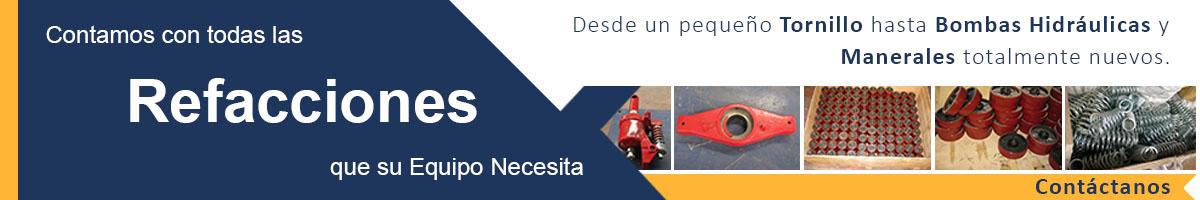 patines hidraulicos refacciones banner